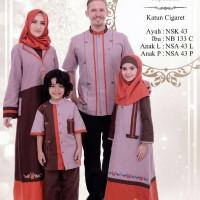 Busana Muslim Sarimbit Nibras Baru Family 43A