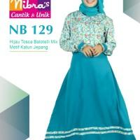 Gamis Muslimah Nibras NB 129 Tosca