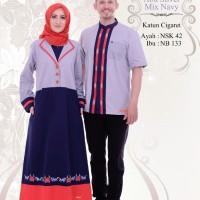 Busana Muslim Sarimbit Nibras Couple Family 42