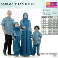 Busana Muslim Sarimbit Nibras Family 45 Tosca