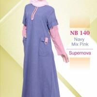 Gamis Muslimah Nibras NB 140 Supernova