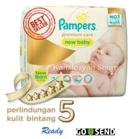 Jual Pampers Premium Care Tape NewBorn 28 Murah