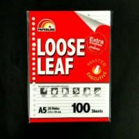 Paperline A5 100 lbr Isi Loose Leaf / Kertas Refill Binder 20 Holes