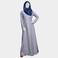 Mezora Dress Gamis Muslimah Polos