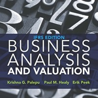 9781473722651 - Business Analysis and Valuation IFRS 4Ed by Palepu