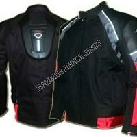 jaket motor countin merah