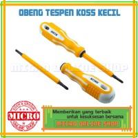 harga Tespen Ac 220v Merk Koss Kecil/ Obeng Plus / Obeng Minus / Obeng 3 In Tokopedia.com