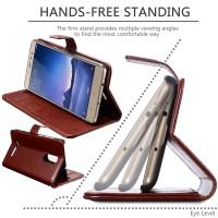 Leather Flip Cover Wallet Xiaomi Redmi Note 4 PRO Case HP dompet kulit
