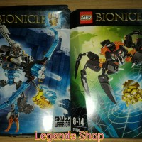 Lego Bionicle - Skull Warrior And Spiders - Set Isi 2
