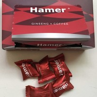 Hamer ginseng & coffee candy per box
