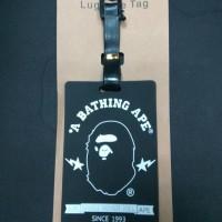 Jual Jual Luggage Tag Premium Impor motif Supreme, Bathing Ape, Stussy Murah
