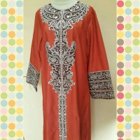 Gamis Abaya Balloteli Bordir Exclusive All Size fit to XL Size AB