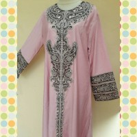Gamis Abaya Balloteli Bordir Exclusive All Size fit to XL Size AC