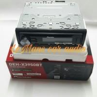 HEAD UNIT SINGLE DIN PIONEER DEH-X 3950 BT AUDIO MOBIL TV MOBIL MURAH
