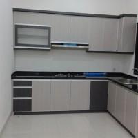 Jual Kitchen Set Minimalis Bandung / Lemari Dapur / Rak Dapur Murah