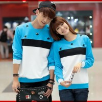 [Cp T-Shirt Bintang CL] pakaian couple cotton combed Limited