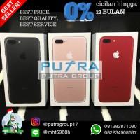Jual READY STOCK iPhone Jet Black 7 PLUS 128 gb ORI GRS APPLE INTER MURAH Murah