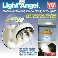 LIGHT ANGEL MOTION ACTIVATED ,PEEL & STICK , LED LIGHT