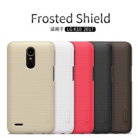 Casing LG K10 2017 Hard Case Nillkin Super Frosted Shield Back Cover