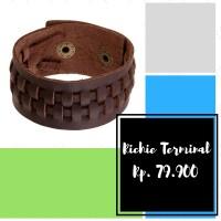 harga Gelang Kulit, Handmade, Punk, Charm, Gelang Cowok Tokopedia.com