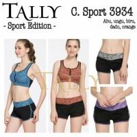 Celana Pendek Sport Senam Fitness Gym BEST SELLER TALLY 3934