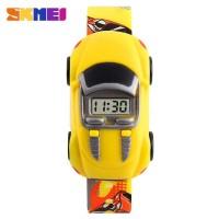 SKMEI Jam Tangan LED Anak - Anak Bentuk Mobil - DG1241 (yellow)