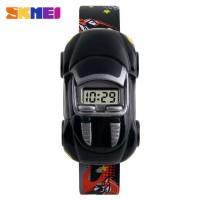 SKMEI Jam Tangan LED Anak - Anak Bentuk Mobil - DG1241 warna hitam