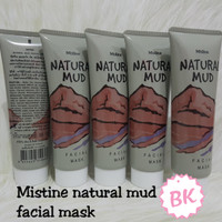 MISTINE NATURAL MUD FACIAL MASK - MASKER LUMPUR