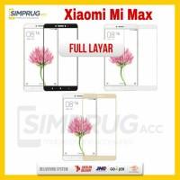 Jual Xiaomi Mi Max Mimax 2 Tempered Glass Warna Color Full Cover Layar 2.5D Murah