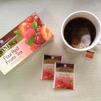 Twinings - Four Red Fruits Tea - 25 teabags