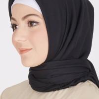 Pashmina Hijab JIilbab Ayana Instan Navy NATHIJAB
