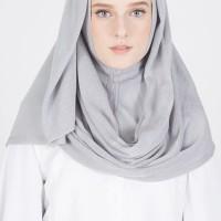 Pashmina Instan Light Grey ALEYDA HIJAB