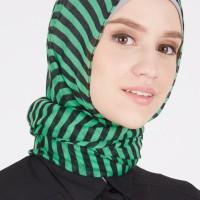 Pashmina Jilbab Instan Scarf Stripy Pashmina