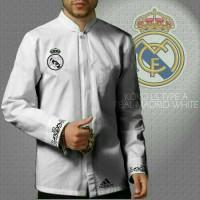 Baju Koko Real Madrid white