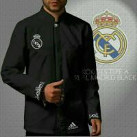 Baju Koko Real Madrid Black
