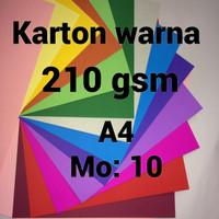 Jual karton warna | uncoated |craft | paper | color| kerajinan | scrapbook Murah