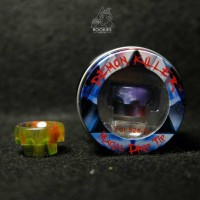 Jual Demon Killer Resin Drip Tip 528 B Wide Bore | Widebore Driptip AC003 Murah