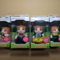 Jual Sylvanian Families  Brown Rabbit / Maple Cat Murah