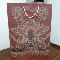 Jual Paper Bag Motif Batik Paper Bag Tas Kado Tas Kertas Murah