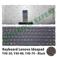 Keyboard Laptop Lenovo Ideapad Y40-30 Y40-80 Y40-70 - Black