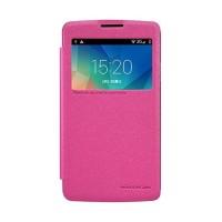 Nillkin Sparkle Series New Leather case LG L60 (X145) - Merah