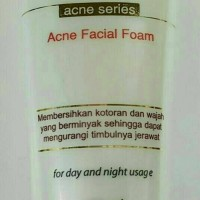 Nourish skin acne series facial foam