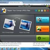 software untuk memperbaiki gambar Stellar Phoenix JPEG Repair 4