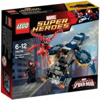 Jual Lego 76036 Carnage's SHIELD Sky Attack Lego Superheroes NEW PRODUk Murah