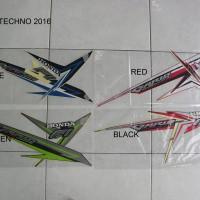 Striping Motor Honda Vario Techno 2016 Ori