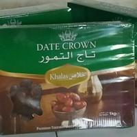 Jual Kurma Date Crown khalas 1 kg Murah
