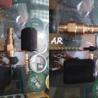 Kupler Jantan 1 TSM Lengkap + Pentil Teplon dan Per