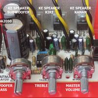 harga Kit Power Amplifier 21s Tda2050 / 2.1 Sistem Tokopedia.com