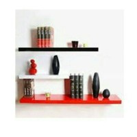 Jual 3pcs Floating Shelf / Rak Dinding / Ambalan Murah