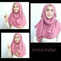 Jual Hijab kerudung Jilbab Pastan Pashmina Instan AMIRA Tali Tassel Murah